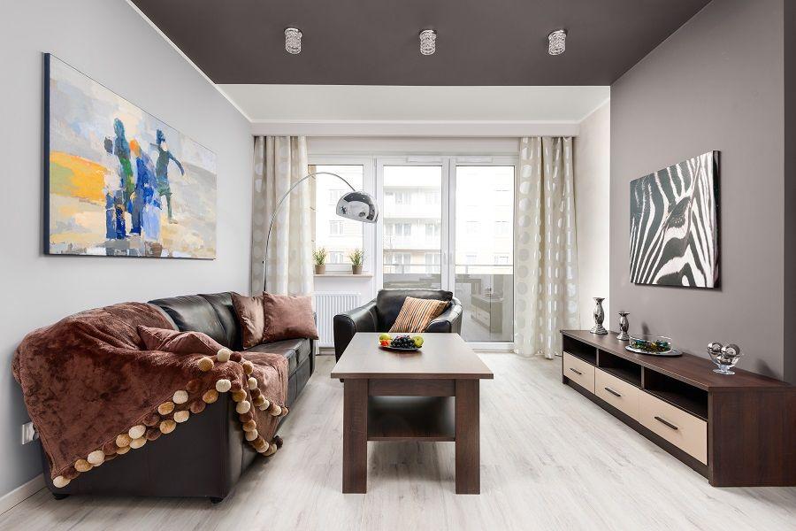 wnętrze małego apartamentu
