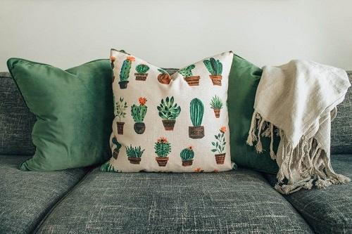 sofa zielona